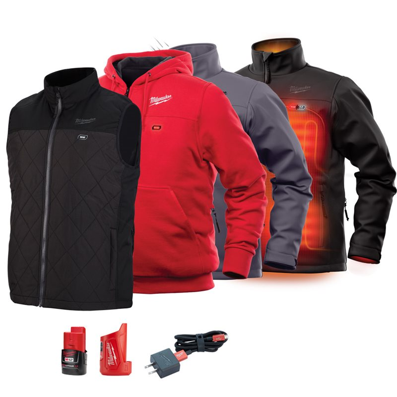 Heated Jackets, battery and charger