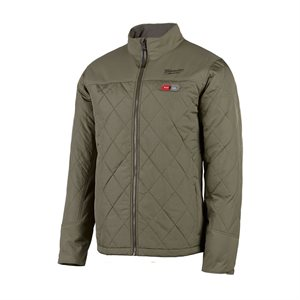 Manteau chauffant Milwaukee - AXIS Olive