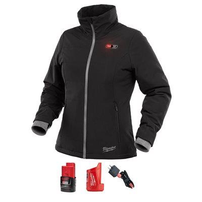 Veste chauffante M12 SOFTSHELL pour femmes