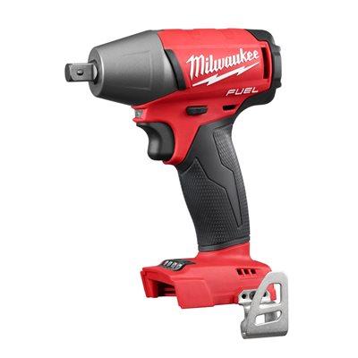 MILWAUKEE - 2755-20 - Clé à chocs de 1 / 2 po M18 avec cheville d'arrêt (outil seulement)