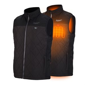 303B-20 - Heated Sleeveless Vest - AXIS Only - MILWAUKEE