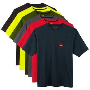 T-shirt à poche - Manches courtes