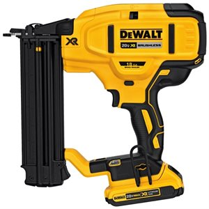 "DCN680D1 - 20V CLOUEUSE DE FINITION 18 GA 5 / 8"" - 2-1 / 8"" - DEWALT"
