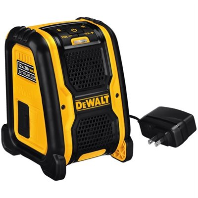 DCR006 - JOBSITE BLUETOOTH SPEAKER - DEWALT