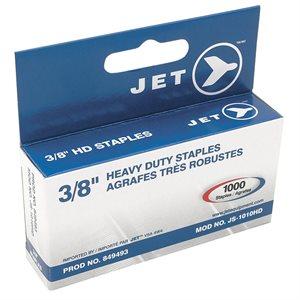 "JET - 849493 - 3 / 8"" STAPLES (1000 PCS) - HEAVY DUTY - JS-1010HD"