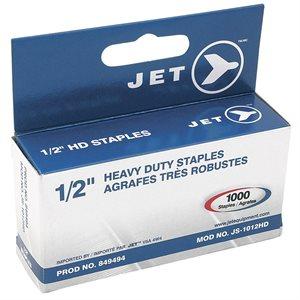 JET - 849494 - AGRAFES 1 / 2 PO (1 000 PCS) - USAGE INTENSIF - JS-1012HD