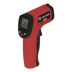 K-550 - Thermomètre numérique à infrarouge avec pointeur à laser - KING CANADA