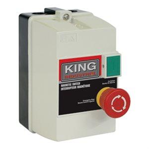 KMAG-220-1417 - Interrupteur magnétique 220V (14-17 amp,) - KING CANADA