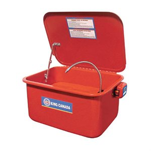 KPW-205 - Bassin de nettoyage auto-recyclant 5 gallons - KING CANADA