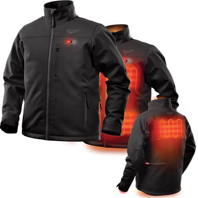202B-20S - Heated Jacket - TOUGHSHELL Only - MILWAUKEE