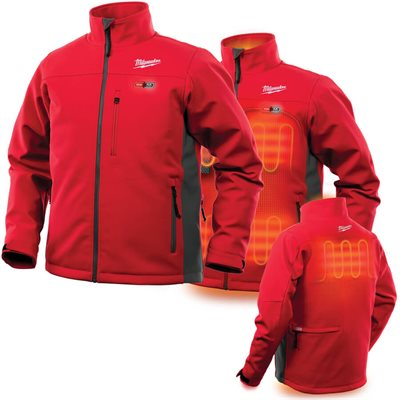 202R-20S - Heated Jacket - TOUGHSHELL Only - MILWAUKEE