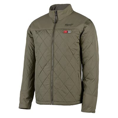 Manteau chauffant Milwaukee - AXIS Olive X large