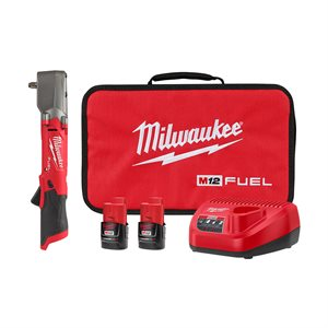 "M12 FUEL 3 / 8"" Right Angle Impact Wrench Kit"