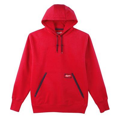 Chandail à capuchon type Hoodie - Rouge XL