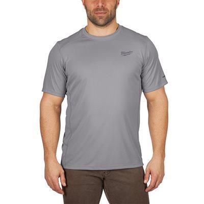 T-Shirt léger manches courtes - Gris L