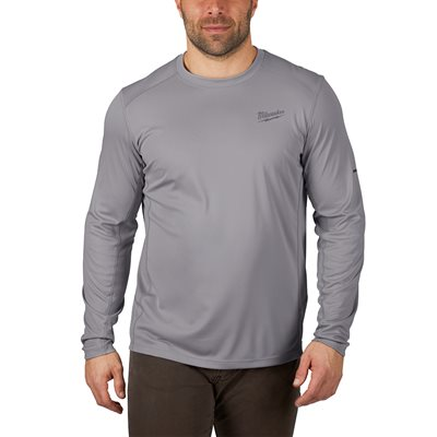 WORKSKIN LIGHT LONG SLEEVES SHIRT - GRAY 3X
