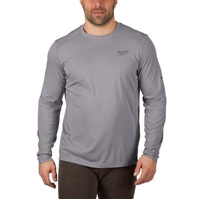 T-Shirt léger manches longues - Gris S