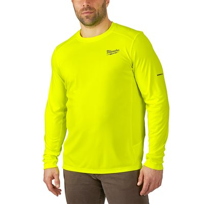 WORKSKIN LIGHT LONG SLEEVES SHIRT - HI-VIS 3X