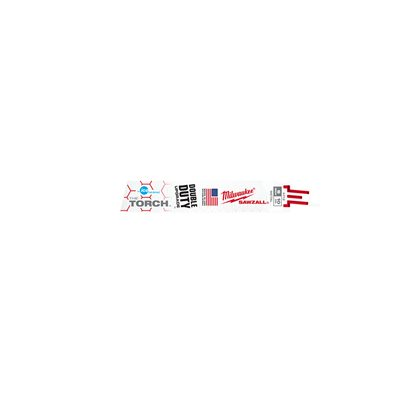 48-00-4712 - BLADE 10T 6L ICE HARD TORCH 5PK - MILWAUKEE