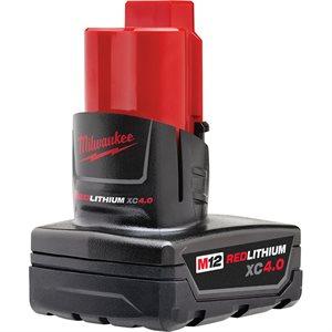Batterie XC 4.0Ah à grande capacité M12