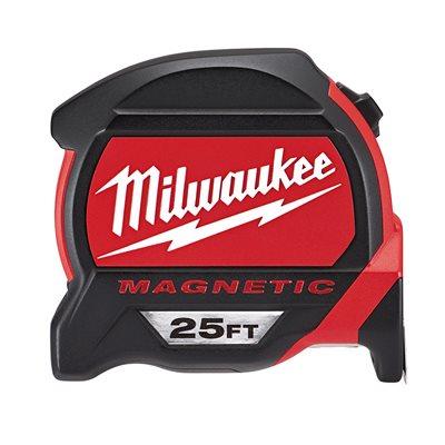 48-22-7125 - 25FT MAG TAPE MEASURE - MILWAUKEE