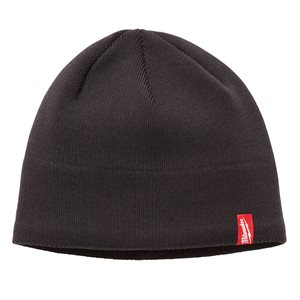 502G - GRAY FLEECE LINED BEANIE - MILWAUKEE