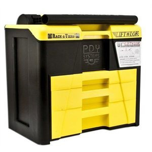 66536 Lift-N-Lok Tool Box (yellow / black) - Rack A Tiers