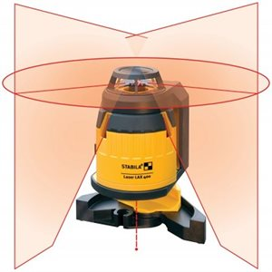 03360 LAX400 360 DEGREE LASER WITH PLUMB LINES - STABILA