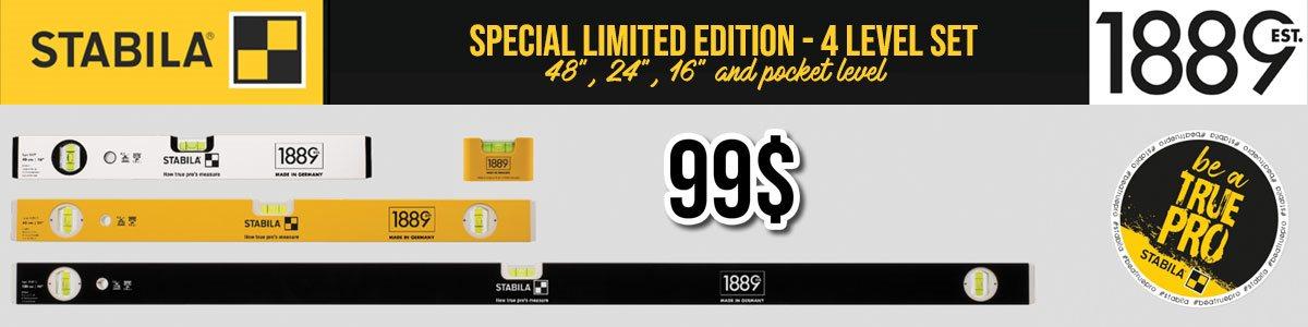 Limited edition stabila 1889
