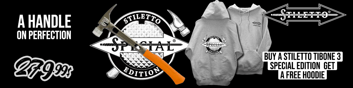 Stiletto TiBone 3 Special edition TB3MCSE with hoodie